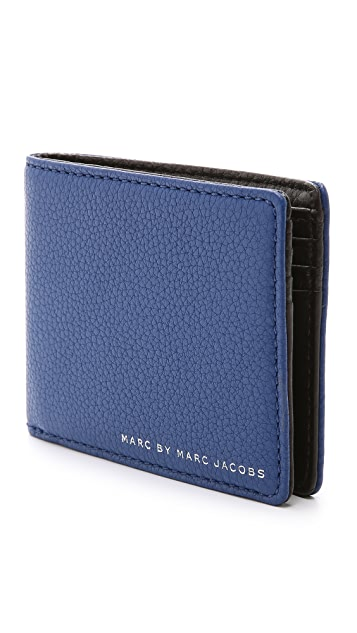 Marc by Marc Jacobs Classic Leather Color Block Martin Wallet