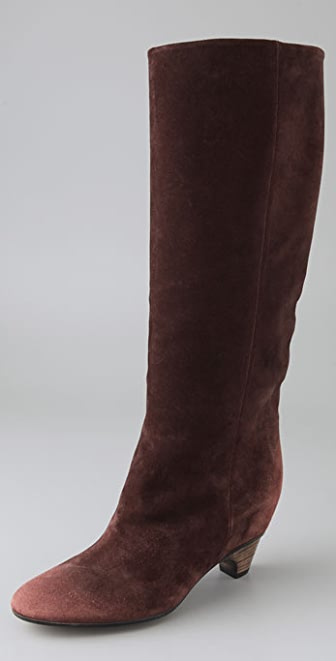 Maison Margiela Suede Boots on Hidden Wedge
