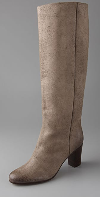 Maison Margiela Replica Suede Slouch Boots