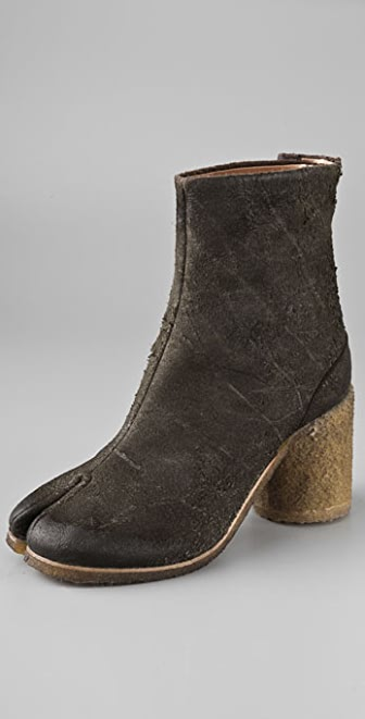 Maison Margiela Tabi Round Heel Booties