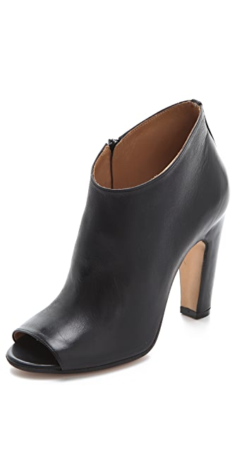 Maison Margiela Open Toe High Heel Booties