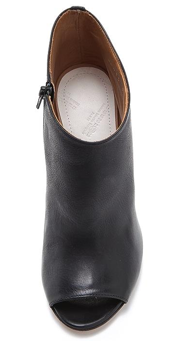 Maison Margiela Open Toe High Heel Booties