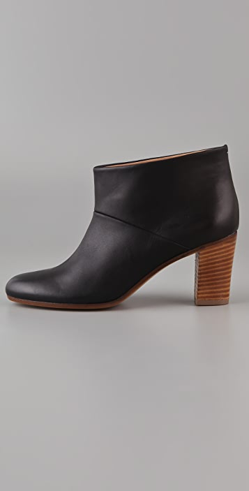 Maison Margiela Stacked Heel Booties