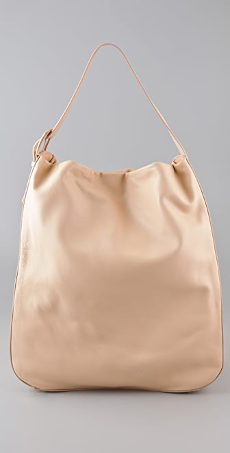 Maison Margiela Leather Hobo Bag