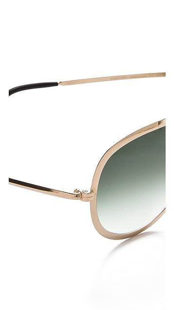 Maison Margiela Replica Turkey Biseau Sunglasses