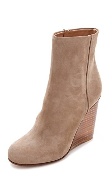 Maison Margiela Plexi Covered Wedge Booties