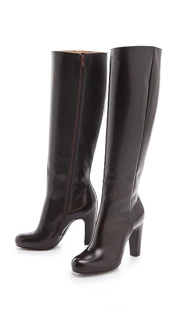 Maison Margiela Hooded Heel Boots