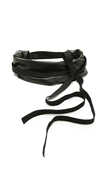 Maison Margiela Leather Wrap Belt