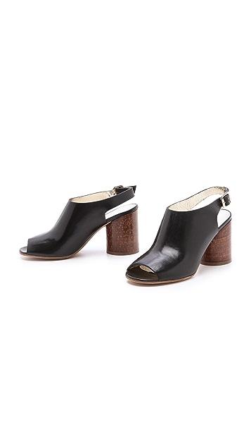 Maison Margiela Round Heel Slingback Booties