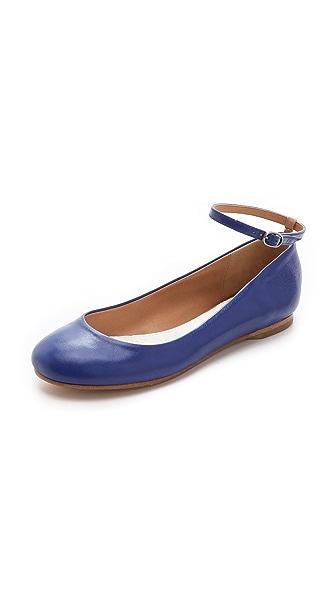 Maison Margiela Ankle Strap Ballerina Flats