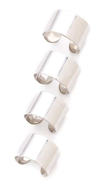 Maison Margiela 4 Finger Rings