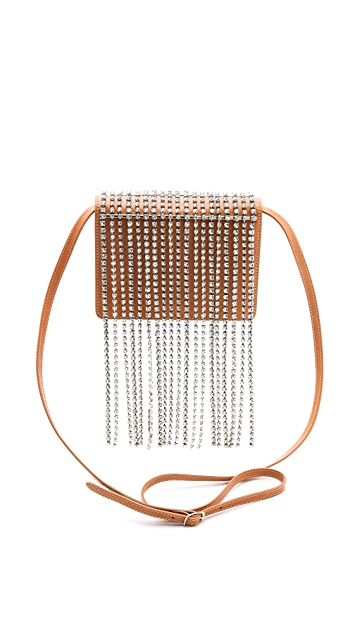 Maison Margiela Cross Body Bag with Crystals