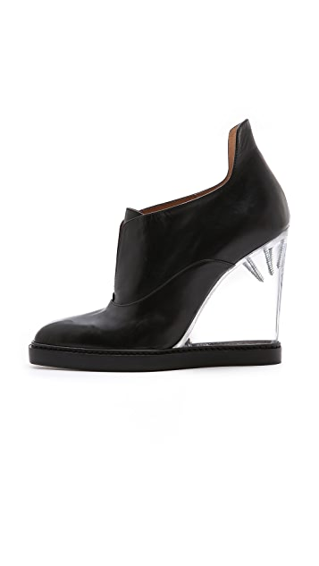 Maison Margiela Pumps with Plexiglass Wedge Heel