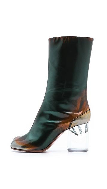 Maison Margiela Brushed Effect Tabi Boots