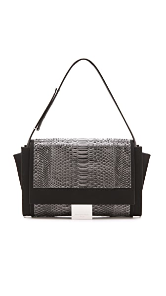 Maison Margiela Python Leather Shoulder Bag