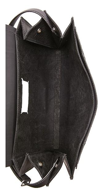 Maison Margiela Python Leather Shoulder Bag