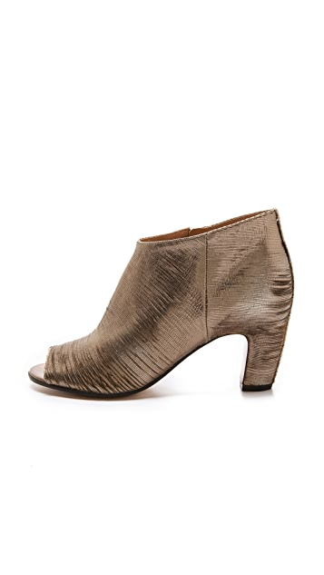 Maison Margiela Stamped Leather Booties