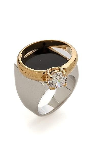 Maison Margiela Faux Diamond Ring
