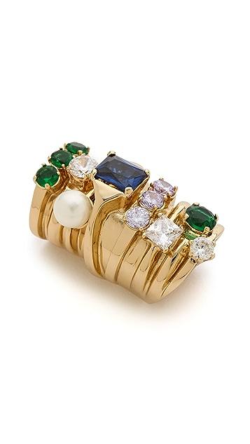 Maison Margiela Stacked Faux Diamond Ring