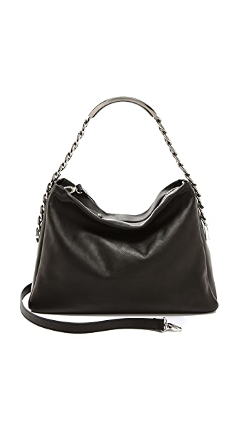 Maison Margiela Leather Name Tag Handbag