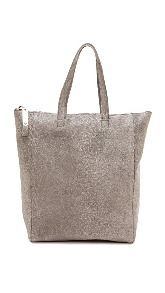 Maison Margiela Leather Top Stitch Tote