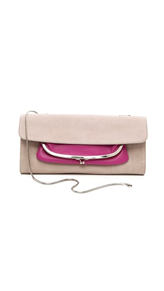 Maison Margiela Bicolor Leather Clutch