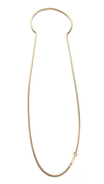 Maison Margiela Snake Chain Necklace