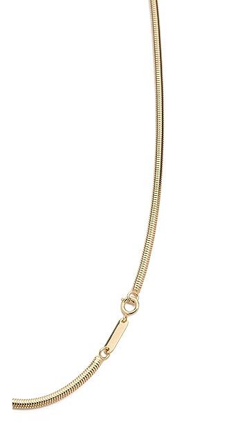 Maison Margiela Snake Chain Necklace