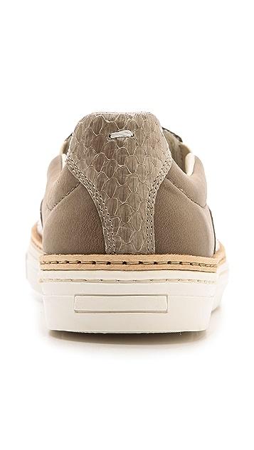 Maison Margiela Snakeskin Slip On Sneakers