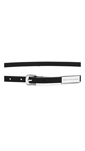 Maison Margiela Thin Leather Belt