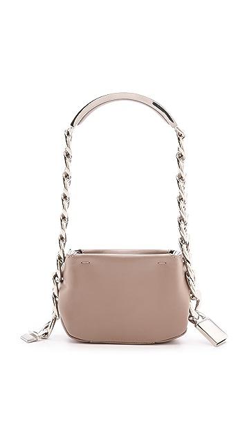 Maison Margiela Leather Mini ID Shoulder Bag