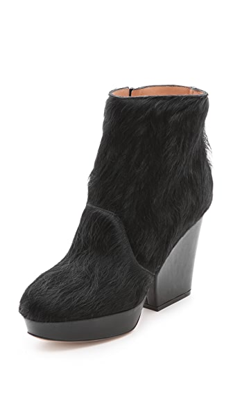 Maison Margiela Fur Block Booties