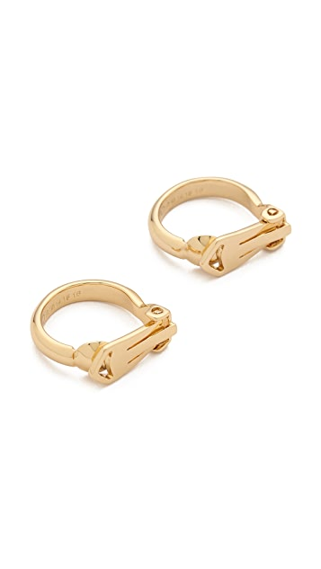 Maison Margiela Double Finger Rings