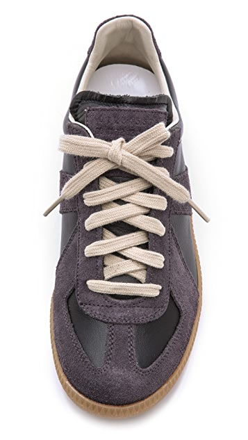 Maison Margiela Leather & Suede Sneakers