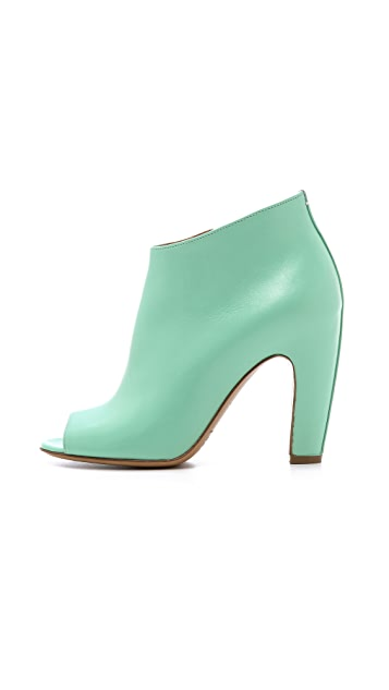 Maison Margiela Peep Toe Booties