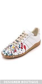 Painter Treatment Sneakers                Maison Margiela