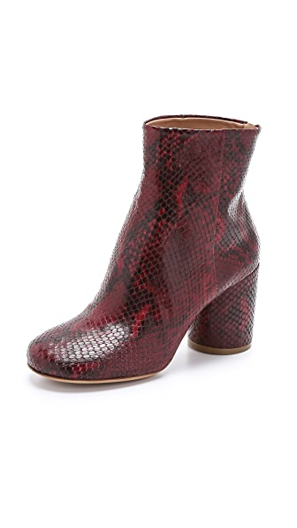 Maison Margiela Snake Printed Booties