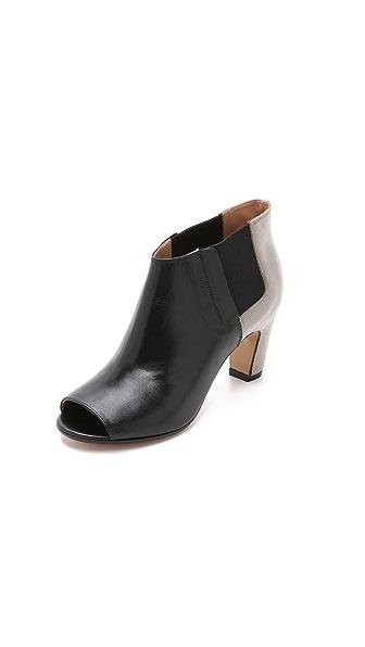 Kupi Maison Margiela online i prodaja Maison Margiela Leather Booties Black-Cement haljinu online