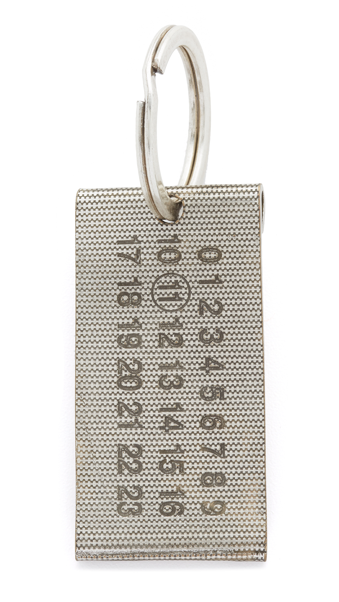 Maison Margiela Margiela Keychain - Silver