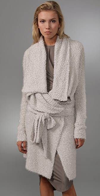 Markus Lupfer Fluffy Square Cardigan
