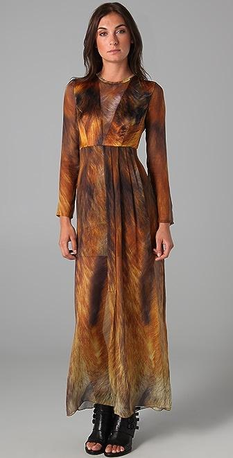 Markus Lupfer Foxy Silk Gown