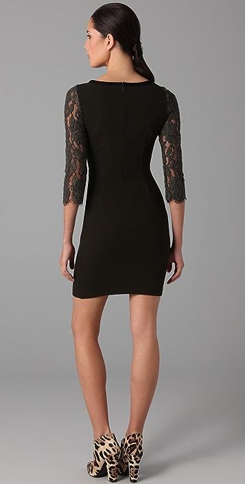 Markus Lupfer Forest Lace Cross Dress