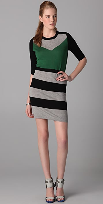 Markus Lupfer Colorblock Emma Dress