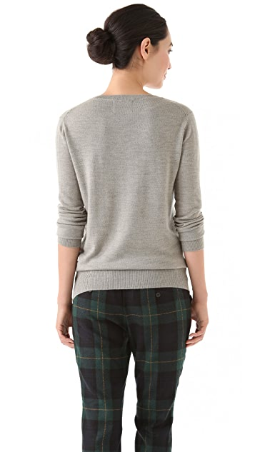 Markus Lupfer Kiss Sequin Sweater
