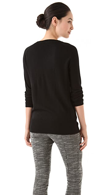 Markus Lupfer Sequin Star Sweater