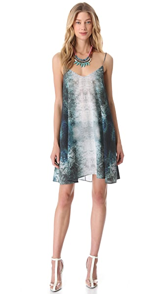 Markus Lupfer Tropical Fish Print Sundress