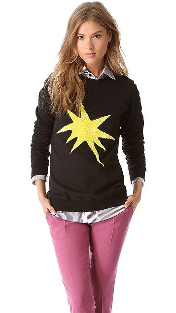 Markus Lupfer Explosive Star Sweatshirt
