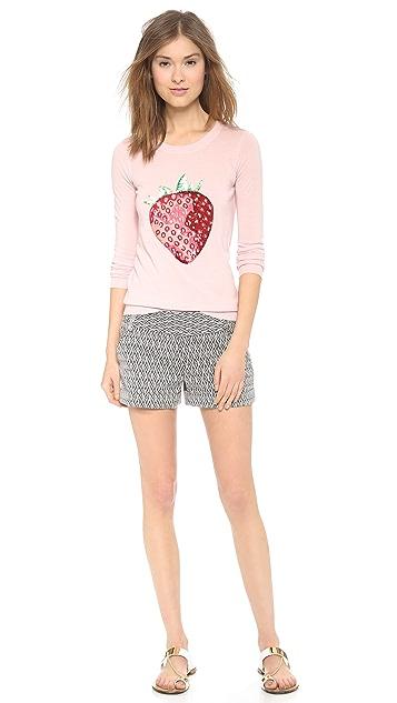 Markus Lupfer Strawberry Sequin Emma Sweater