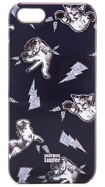 Markus Lupfer Cat Fight iPhone 5 / 5S Case