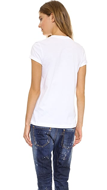 Markus Lupfer You Rock Sequin Kate Tee